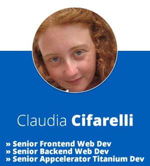 Claudia Cifarelli - DEV4U