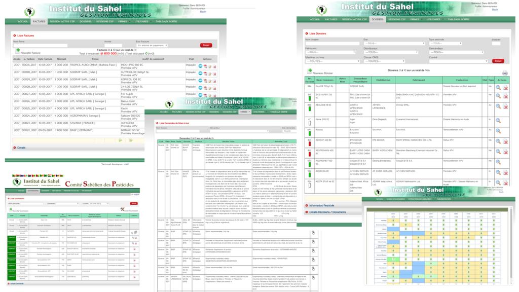 PESTICIDES project (Insah, Cills, CSP) - DEV4U